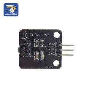 Image 2 - Módulo transmisor IR infrarrojo de 38KHz para Arduino, receptor de infrarrojos Digital, módulo de Sensor, bloque de construcción electrónico, 1 Juego por lote