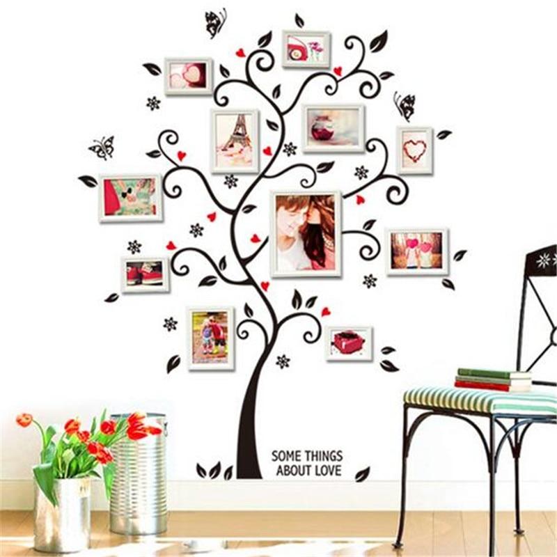 Aliexpress.Com : Buy Brand Design Black Tree Photo Frame Diy 3D
