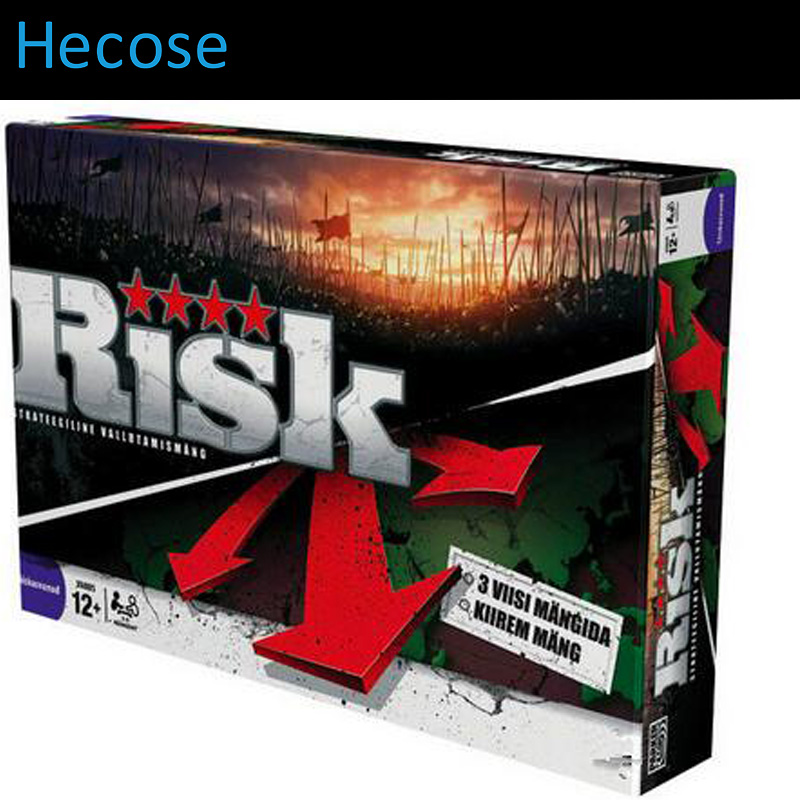 board game risk 2nd version, full english version, high quality, very suitable for the party and family board game risk full english version high quality very suitable for the party