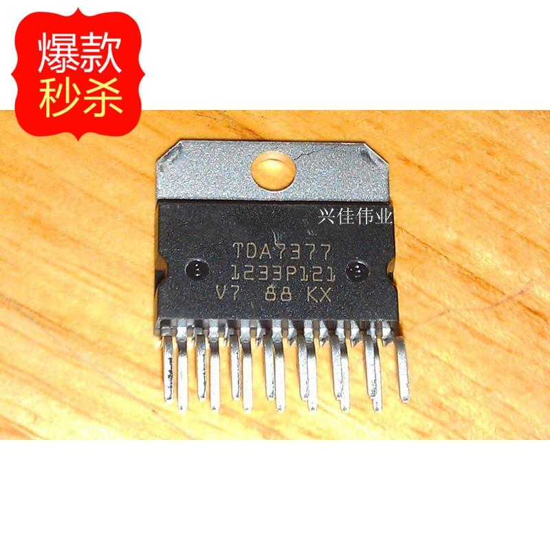 10pcs//lot TDA7377 ZIP-15 car radio amplifier amplifier IC   X