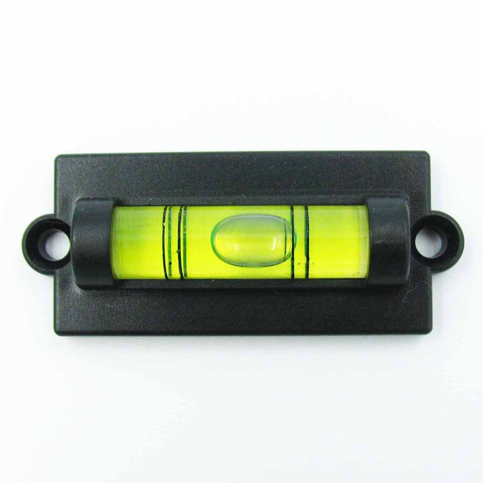 HACCURY Mini bubble level spirit level Small spirit with Mounting ... for Spirit Level Instrument  177nar