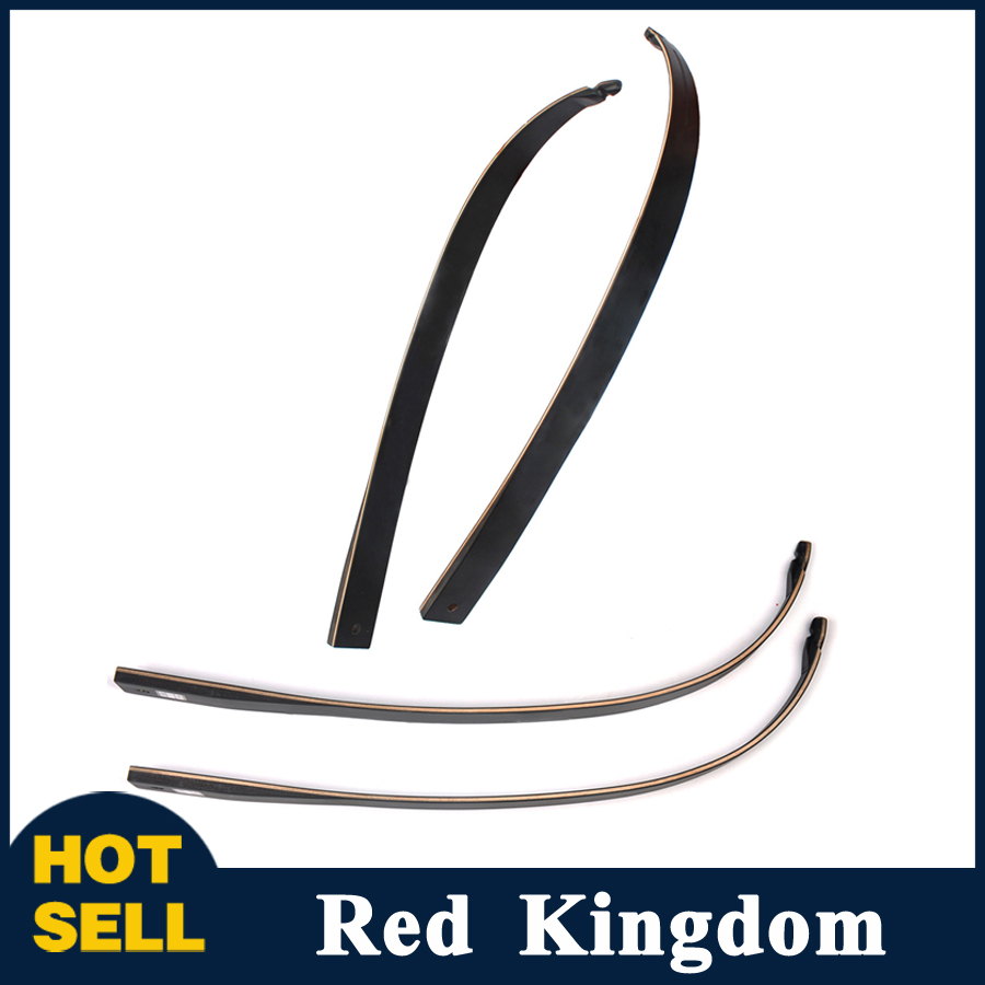 где купить 2 pcs Mixed Material Bow Limbs with Lots of Glass Fibers and Resins Black for DIY Bow Archery Hunting Shooting дешево