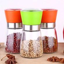 TTLIFE Vaso de Acero Inoxidable Molino de Pimienta Slim Fit Especias Sal Pimienta Mill Grinder Moler Condimentos Utensilios de cocina para Cocinar