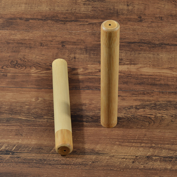 Natural bamboo case eco friendly Toothbrush Bamboo Tube 8.3 inch For Toothbrush Case Hand made Toothbrush accessories 2