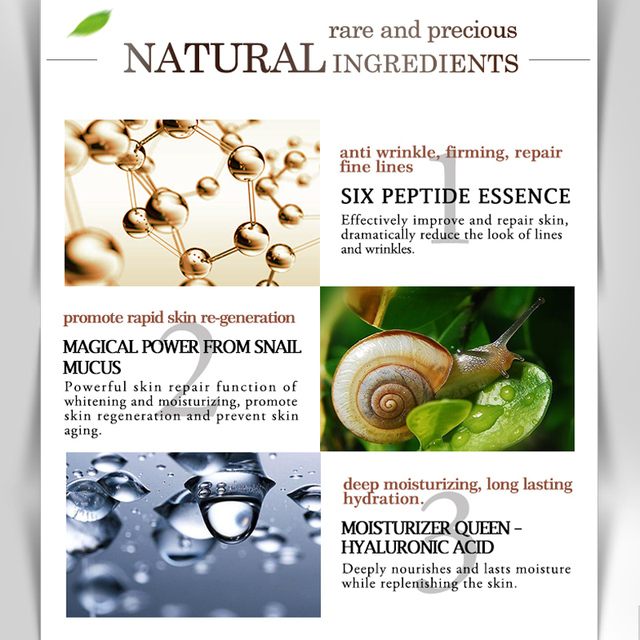ARTISCARE Snail Repair Facial Cream Aging Aniti Oil-Control Facial Skin Care Anti Wrinkle Shrink Pores Moisturizing Lifting Skin