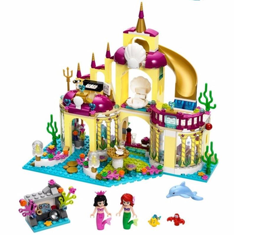 Happywill-Gift-bag-stickers-New-402pcs-JG306-Princess-Undersea-Palace-Girl-Building-Blocks-Bricks-Toys-For-Children-Christmas-1