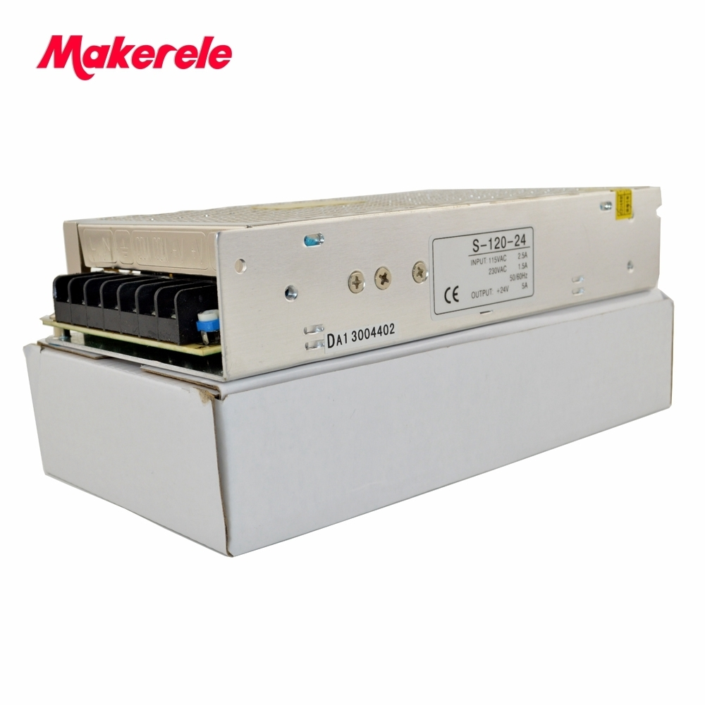 low price 120w S series single output switching power supply type 220v ac to 5v dc circuit 22Amp with CE certification in Switching Power Supply from Home Improvement