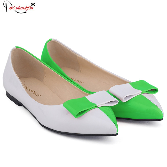 2017 Spring And Autumn Fashion High Quality Vintage Women Flat Woman Pointed Toe Flats Spring Mixed Colors Shoes SMYNLK-D0121 2017 new fashion flats woman spring summer women shoes top quality pointed toe women flats suede comfort flat plus size 40