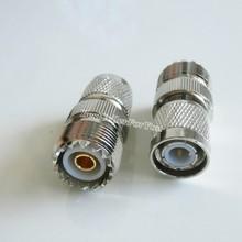 1 Pcs TNC plugue macho para jack fêmea UHF SO-239 Conector RF reta Adaptador Conversor