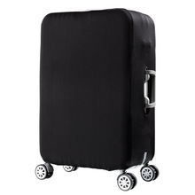 2017 New Solid Luggage Cover Protector Trolley Suitcase Covers Elastic Polyester Spandex Protection Case Travel Luggage Cover