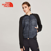 The North Face Hiking Cotton Jacket for Women Comfortable Travel Reflective Light Coat Outdoor Sports Light Casual Clothes 3LK2