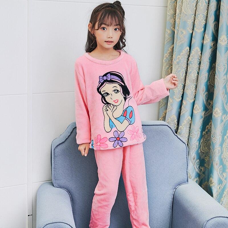 9014850e6 new release 5ea38 1a471 children fleece pajamas winter thicken warm ...