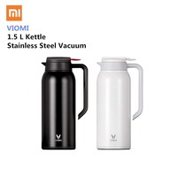 Xiaomi VIOMI Stainless Steel Bottle 1.5L Big Capacity Thermos Water Vacuum Bottle Cup Flask Pot 24h Keep Warm For Home Office
