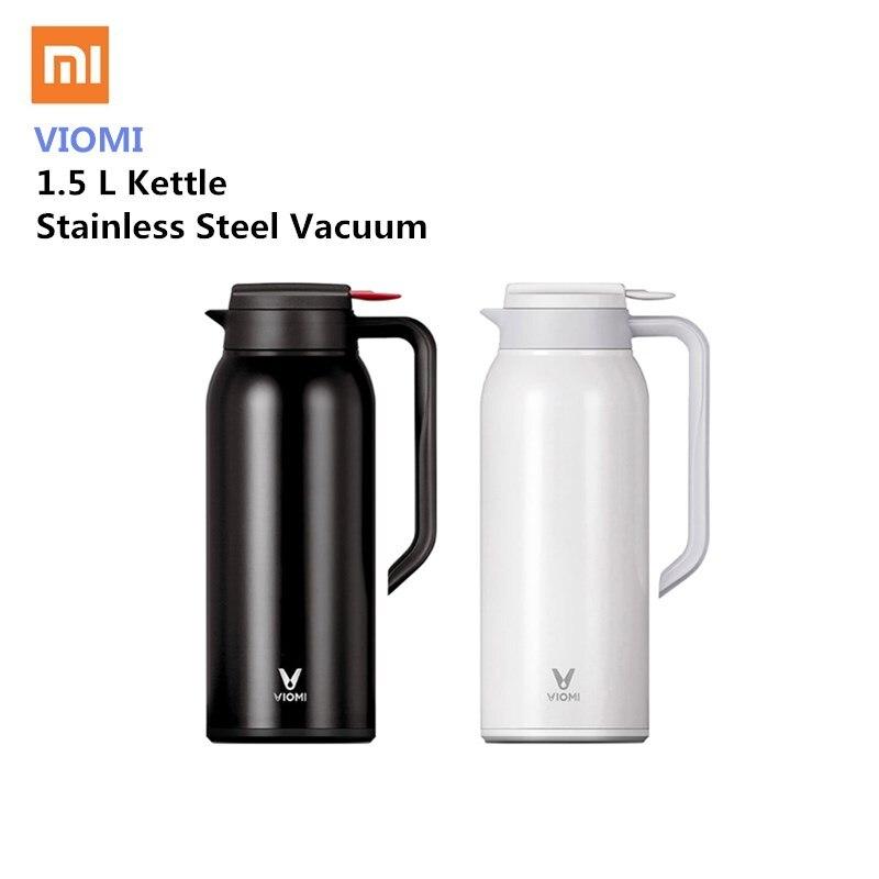Xiaomi VIOMI botella de acero inoxidable 1.5L de gran capacidad termo vacío de agua de la taza de la botella de frasco olla 24 h mantener caliente para oficina en casa