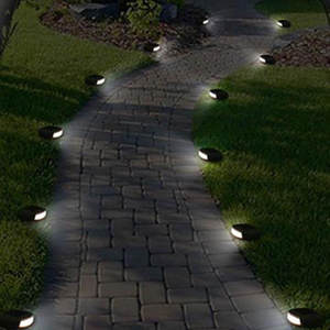 Incroyable CLAITE Outdoor Waterproof LED Solar Garden Stone Lights White Light Street  Lamp For