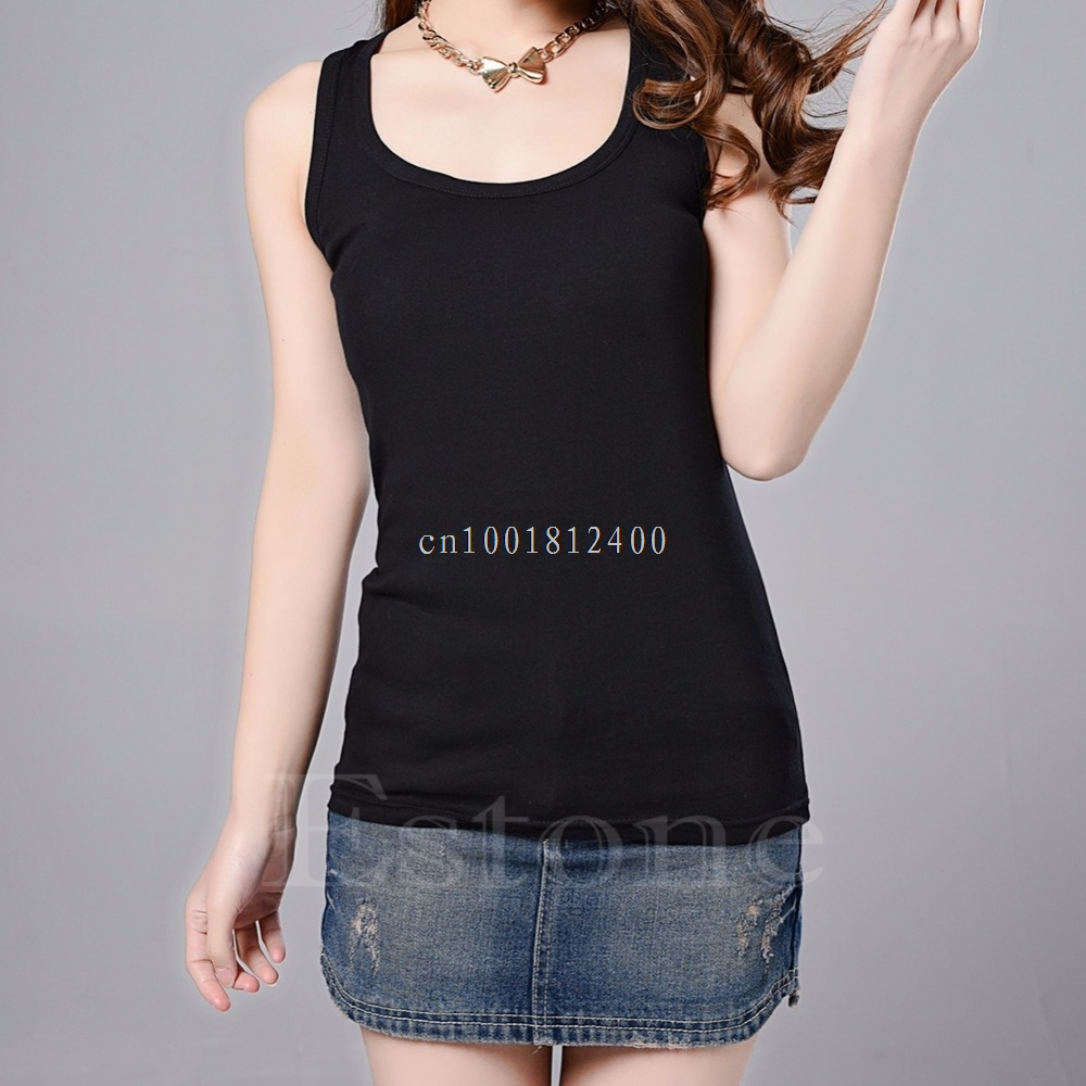 1pc Hot Sexy Women's Lady Casual Vest   Tank     Tops   Sleeveless New Multi-Color W033 HOT SALE