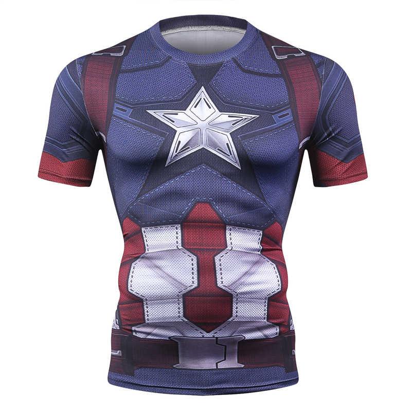 2019 Фитнес Мужская футболка Spider_man 3d печатная Футболка Homme унисекс Уличная Повседневная короткая рубашка Супергерои Косплей Футболка