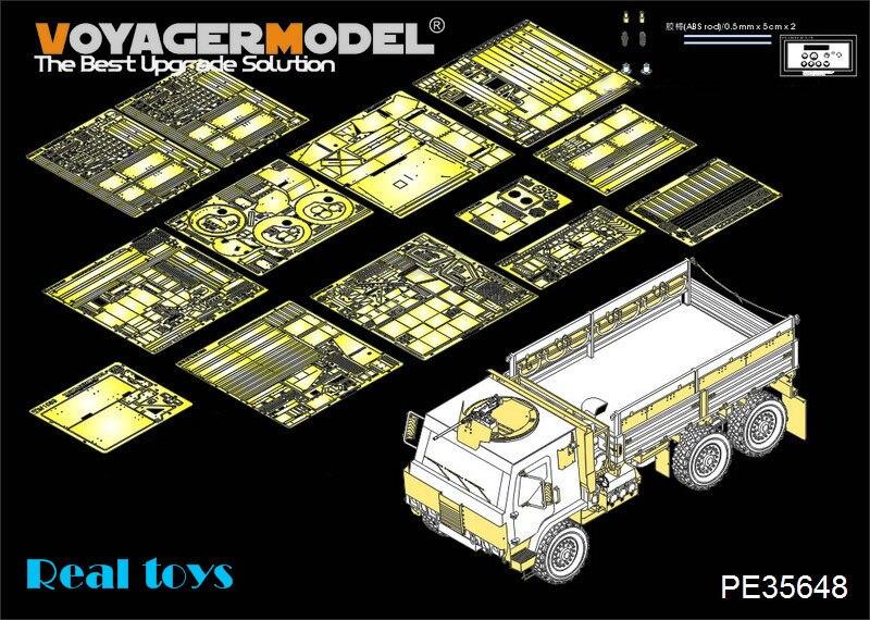 Voyager MODEL 1/35 PE35648 Modern US M1083 FMTV [Armor CaB] Basic (For TRUMPETER 01008)