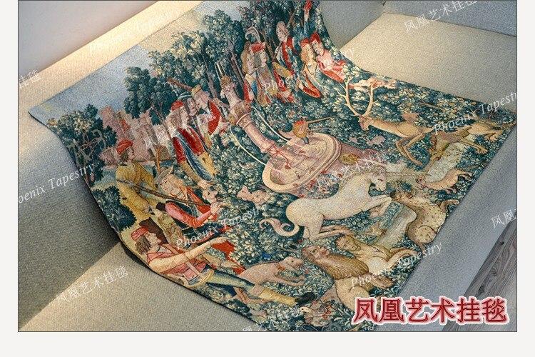 Bela tapeçaria parede pendurado 136*140cm moda casa