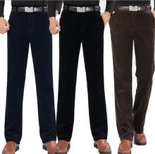Neue Männer Cord Hosen Frühjahr Herbst hosen Männer Gerade Beiläufige Hosen Mode Hose Größe 32-40, S100