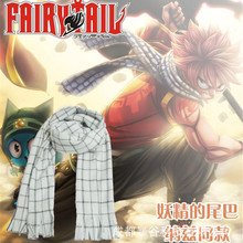 Costume Scarf Fairy-Tail Natsu Anime Winter Dragneel Gift Christmas-Gifts Soft-Spring