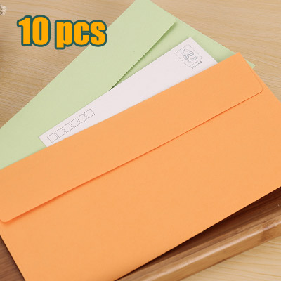 10pcs set paper envelopes for invitations wedding invitation