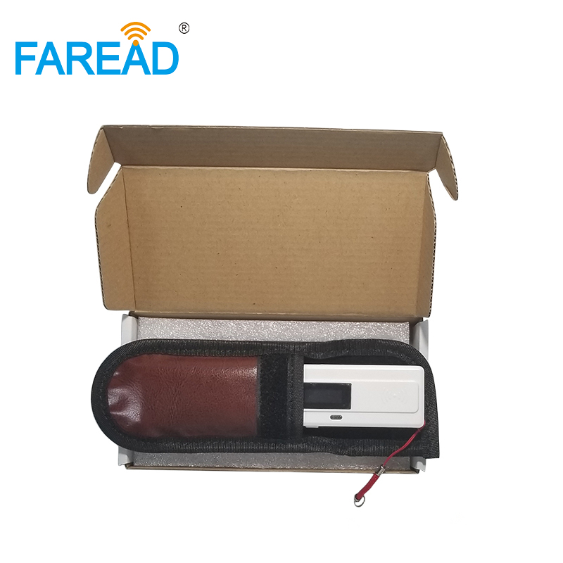 High Scan-sensitivity USB 134.2Khz Pocket RFID Chip Scanner For Vet ,breeder,pet Owner Microchip Reader