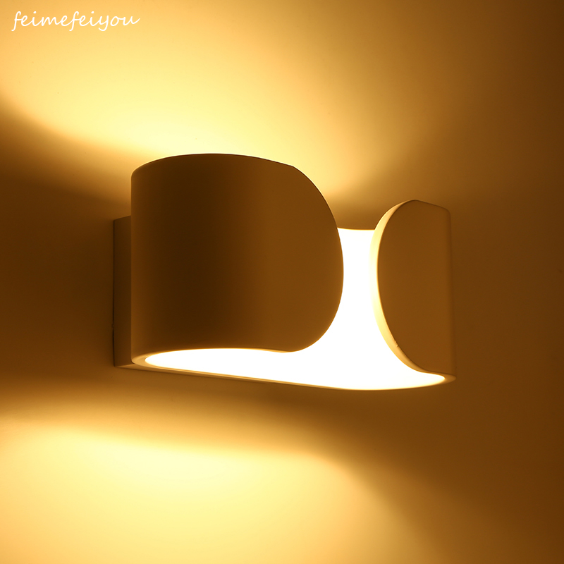 feimefeiyou Modern Wall Sconce Lights 6W LED Room Wall Lights Aluminium Wall Lighting Lamps for Living Room Bedroom Corridorfeimefeiyou Modern Wall Sconce Lights 6W LED Room Wall Lights Aluminium Wall Lighting Lamps for Living Room Bedroom Corridor