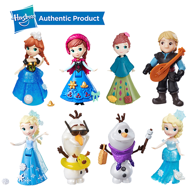 Hasbro Disney Frozen Little Kingdom Elsa Anna Shimmers