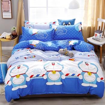 Cartoon Doraemon Printing High Quality Bedding Set Bedding Sets