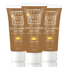 Full body tanning lotion Stay 1Week 2 hour Bronze Self Sun tan Tanning Enhance Lotion Day tanning cream bronzer tanner lotion