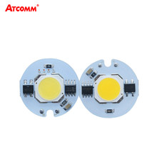 LED COB Lamp Chip 3W 5W 7W 9W 110V 220V LED Diode Array Spotlight Bulb High Power Smart IC LED Matrix For Searchlight Floodlight(China)