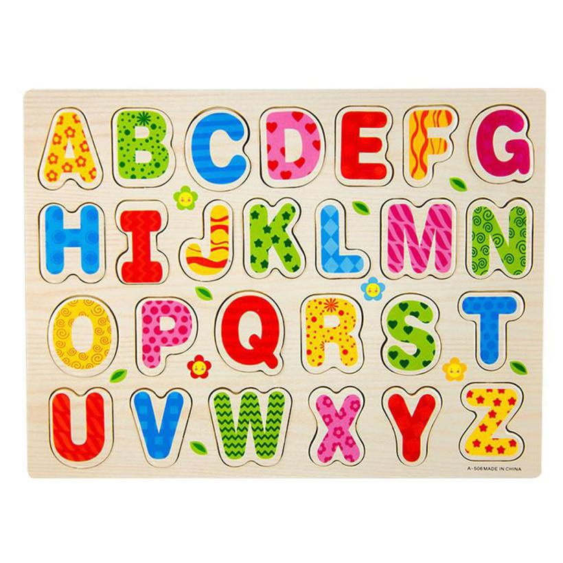 26 pcs puzzle english educational toy alphabet a z letters educational foam mat for children