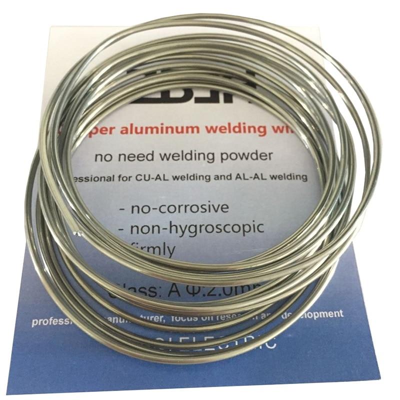 2.00mm*3m low temperature flux cored copper aluminum gas welding rod brazing welding wires for transformer refrigerator etc