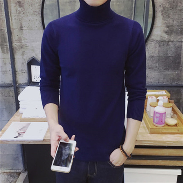 sweater men thicken knitwear pull homme pullover men turtleneck sweater warm soft sweater pull homme marque black white grey