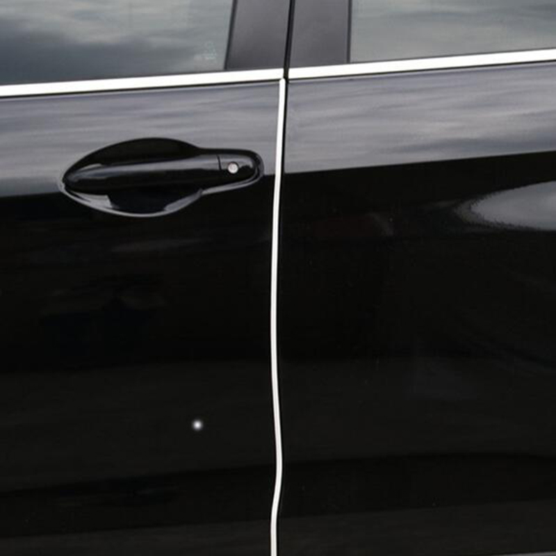 PAIR Transparent Car Door Edge Protector Guard Strip Trim Moulding