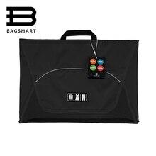 """BAGSMART 17 """"Vêtement Dossier Anti-rides 1-5 pcs T Chemises Liens Emballage Organisateur Sacs Voyage Sac pour Emballer Tavel Bagages Valise"""