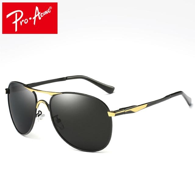 b3039d8640 Pro Acme Classic Brand Design Sunglasses Men HD Polarized Metal Frame  Driving Sun Glasses Luxury Shades UV400 PA0924