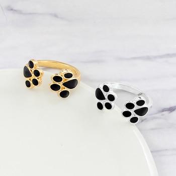 Dog Paw Print Rings  3