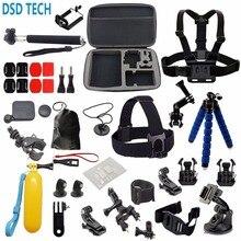 DSD TECH pour aller pro supports accessoires ensemble Octopus Trépied pour gopro hero 4S 4 3 Xiaoyi mi Caméra sjcam sj4000 wifi H9 H9R 18A