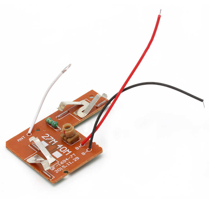 27MHZ 4CH Remote Control Circuit Board PCB Transmitter Receives Antenna Toys