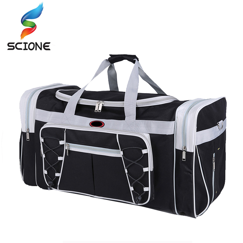 Hot Waterproof Large Capacity Sports Gym Bag Outdoor Multifunction Sporting Travel Handbag Training Duffle Bags for Men Women canvas sport bag training gym bag men woman fitness bags durable multifunction handbag outdoor sporting tote for male