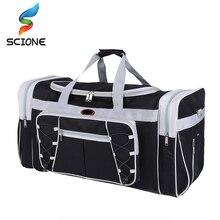 72L Large Capacity Outdoor Sports Single Shoulder Fitness Bags Travel Gym Bag for Women&Men Multifunction Sports Handbag J23 недорого