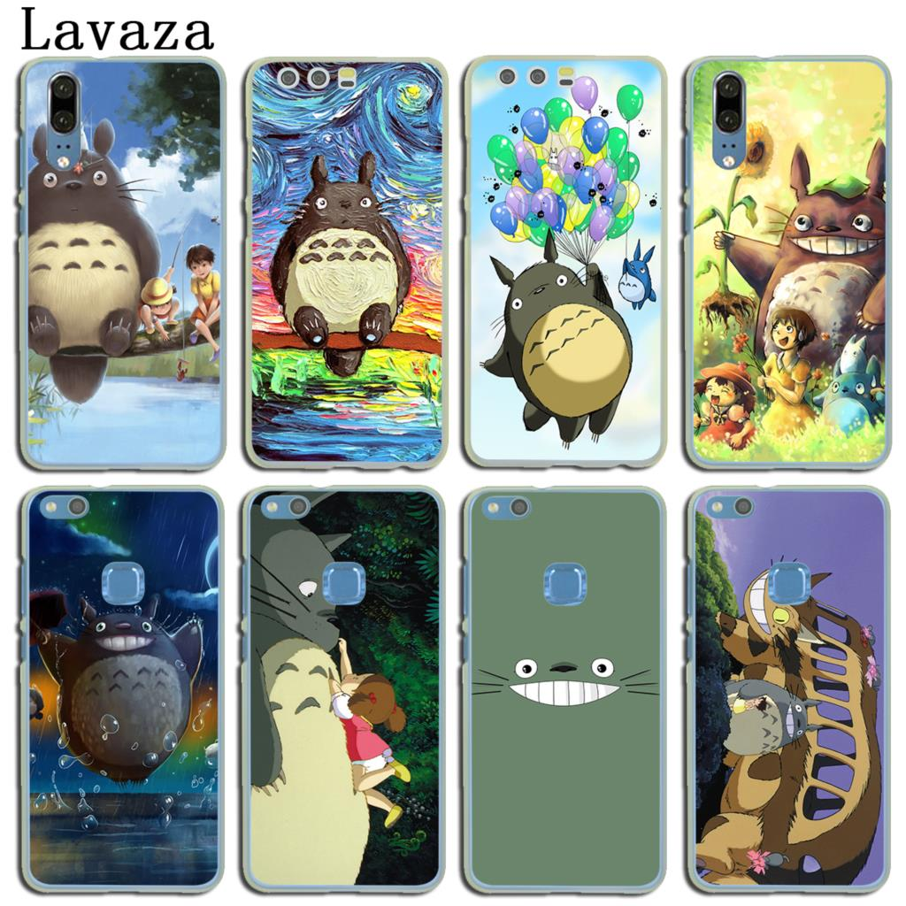 Lavaza anime My Neighbor Totoro friends Hard Case for Huawei P20 Pro P10 P9  Plus P8 Lite Mini 2016 2017 P Smart Mate 10 Lite-in Half-wrapped Case from  ...