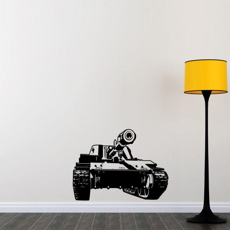 Kids Favor Wall Decals Tank Vinyl Stickers Living Room Decals Kids Room Art  Wall Paper(