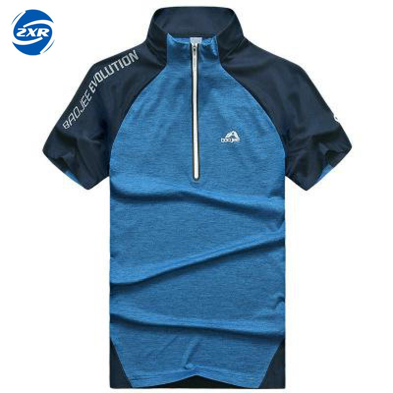 Official Website Design Quick Dry Breathable Hiking T-shirt Summer Outdoor Sportswear Men Climbing Fishing Hiking T Shirt Short Sleeve Hiking T-shirts