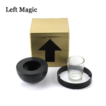 Amazing Mysterious Box Magic Tricks Stage Easy To Do Magic Props Surprising Little Box Magic Professional Magician Illusion magic cake box