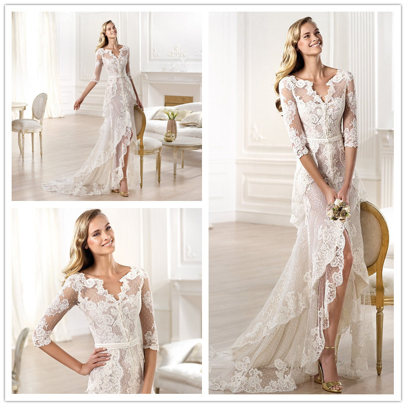 20 Elegant Simple Wedding Dresses Of 2015: Brand Elie Saab Wedding Dress 2015 Romantic Elegant Beach