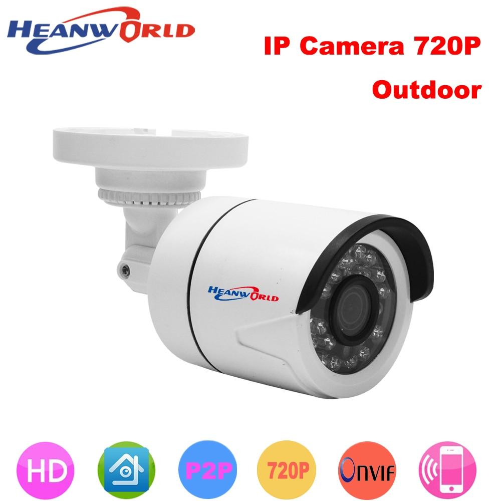 Mini IP camera 720P H.264 1.0 Megapixel HD ONVIF IP Camera P2P 24pcs LEDs Night Vision Security Network IP CCTV Camera IP Cam
