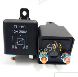 high power continuous-duty relay and Starting relay Automotive relays 200A 12VDC contactor for car(China)